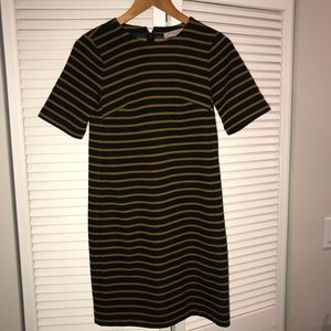 Loft striped work dress
